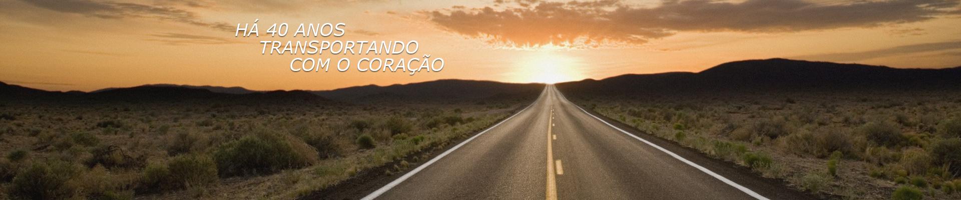 H� 40 ANOS TRANSPORTANDOCOM O CORA��O
